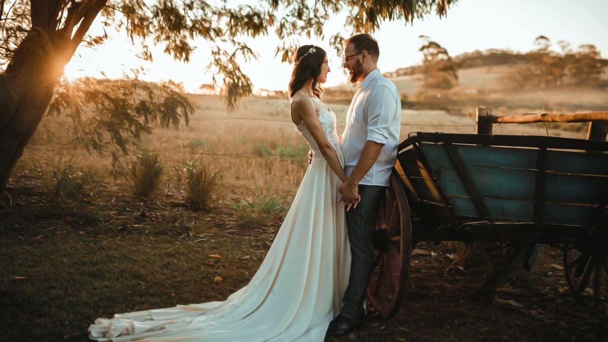 Novomanželé a výzdoba obřadu