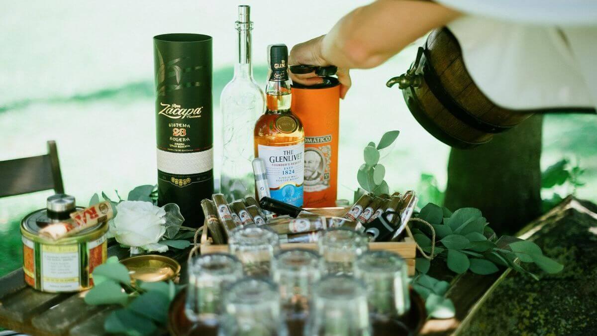 alkohol na svatbu